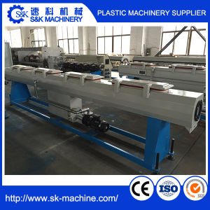 Plastic HDPE Large Diameter Hollow Wall Winding Pipe Extrusion Line pictures & photos