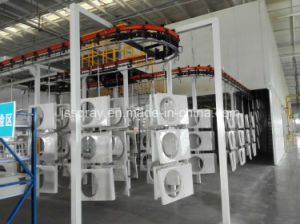 Automatic Conveyor Chain Powder Coating Machine for Air Conditioning
