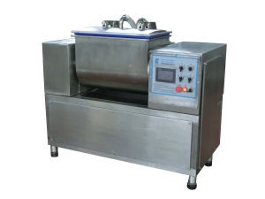 Vacuum Dough Mixer Flour Mixing Machine 25kg/Time CE Certification pictures & photos