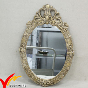Delicate French Style Decorative Wood Wall Decoration Mirror pictures & photos