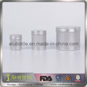 China Aluminum Round Canister Tin