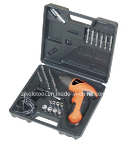 Cheap 45PCS 3.6V Cordless Drill Tool Set with Drill Bits pictures & photos