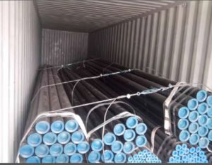 JIS G 3454 Stpg 370 Stpg 410 Carbon Steel Seamless Pipe pictures & photos