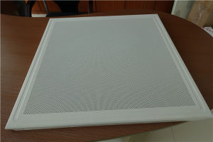 600*600mm Aluminium Perforated False Ceiling Tiles/Panels pictures & photos
