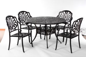 Leisurely Outdoor Amalfi 5 PC Dining Set Furniture W/O Cushion pictures & photos