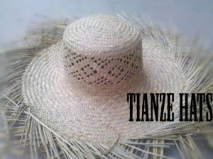Natural PU Straw Hat Body pictures & photos
