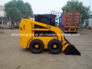 0.5t/26kw/0.25m3 Jc35 with CE Skid Steer Loader pictures & photos