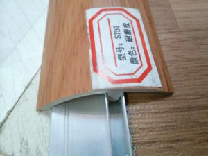 Ck New Medea Wearable PVC Transition Profile for Laminate Flooring pictures & photos