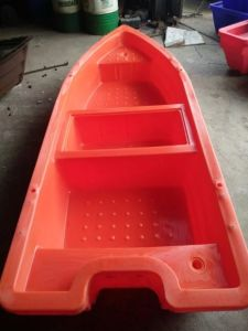 Rotational Moulding Plastic Rowing Entertainment Boat