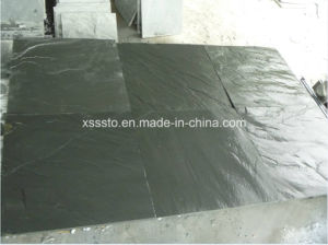 Split Surface Black Slate Surface for Floor and Wall Decoration pictures & photos