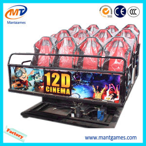 Popular Luxury 9 Seats 5D Cinema & Electric System Cinema 5D Simulator pictures & photos