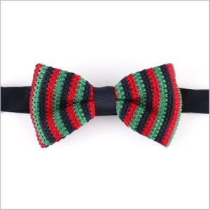 New Candy Color Silk or Polyester Knitted Bow Tie (YWZJ 59) pictures & photos