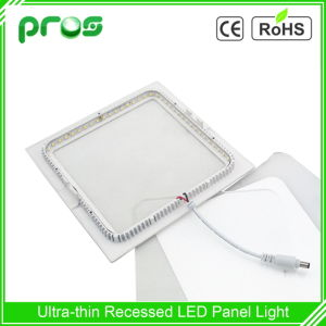 Side-Emitting Ultra Thin 12W LED Panel Light Square Shape pictures & photos