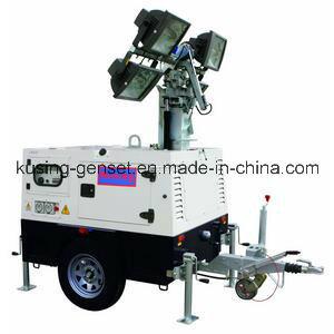 T1000 Series Mobile Light Tower Generator Set/Diesel Generator Set/Diesel Generating Set/Genset/Diesel Genset