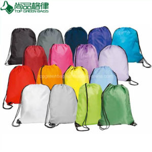 Durable Logo Printing Sport Drawstring Backpack Bag (TP-dB048) pictures & photos