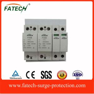 China Supplier Type 1+2 Iimp 50kA, 1 Phase Electronics AC Lightning Surge Arrester pictures & photos