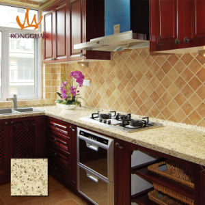 Solid Surface Cabinet Top Quartz Stone (QD172) pictures & photos