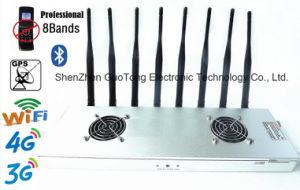 Signal Jammer WiFi/2g/3G/4G/2.4G/GPS Mobile Signal Jammer Signal Blocker Cellphone Jammer Eight Signal Blockers Jamming