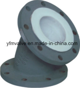 Steel PTFE Lined Elbow 45 Degree pictures & photos