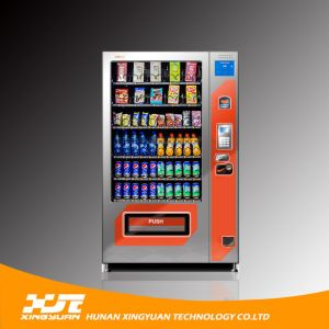 Large Size, 10 Selections/6 Trays Automatic Snacks&Drinks Vending Machine pictures & photos