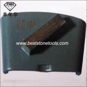 H01A Single Bar Diamond Segment for HTC Concrete Grinding Machine pictures & photos