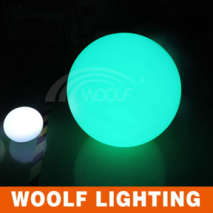 Battery Operated Color Changing LED Snowball Lamp pictures & photos