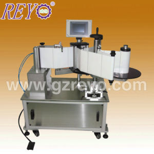 Semi-Automatic Round Bottle Adhesive Sticker Labeling Machine