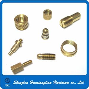 Brass Connector Hardware CNC Turning Machining Mechanical Parts pictures & photos