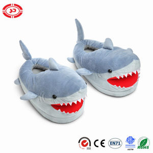 Shark Stuffed Warm Shoes Plush Soft CE Custom Slippers pictures & photos