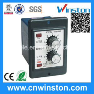 Flush Mounted Type Manufacturer Twin Time Relay with CE pictures & photos