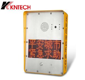 Emergency Intercom Help Point Knzd-33 Safe City Train Sos Telephone LED Telephone pictures & photos