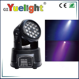 Wholesale 18PCS 3W RGB DMX LED Mini Moving Head Wash pictures & photos