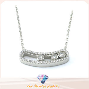 Hot Selling Hight Quality Mens&Womens Silver Jewelry Arrow Design Pretty Silver Necklace Jewelry (N6624) pictures & photos