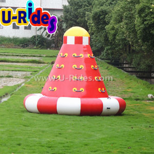 OEM / ODM 0.9mm PVC Tarpaulin 3 Sides Climbing Wall Inflatable Iceberg pictures & photos