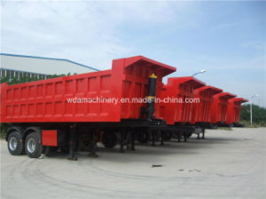 Dump Truck Semi Trailer with Hydraulic Cylinder