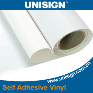 White Glue Self Adhesive Vinyl for Printing pictures & photos
