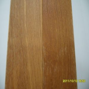 China White-Brushed Top Class Cumaru Solid Wood Flooring