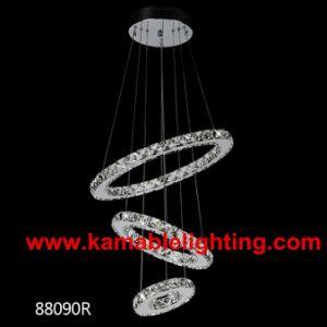 Modern Circular Ring Crystal Pendant LED Lighting (Kam88090D) pictures & photos