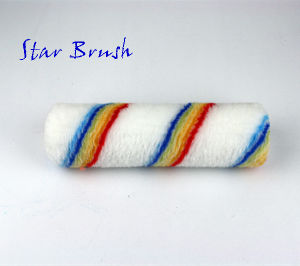 Blue Red Double Stripe Roller Refill