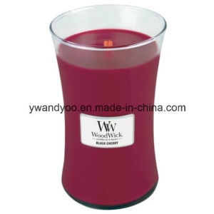 Clear Glass Jar Scented Candles for Decoration