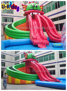 Gragon pool Inflatable Water Park pictures & photos
