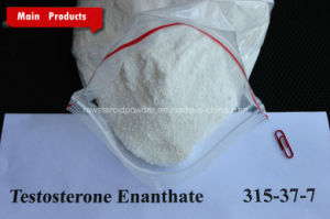 99% Muscle Anabolic Raw Steroid Hormone Powder Testosterone Enanthate pictures & photos
