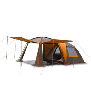 2 Doors Tent for Camping Outdoor Dome UV Sun pictures & photos