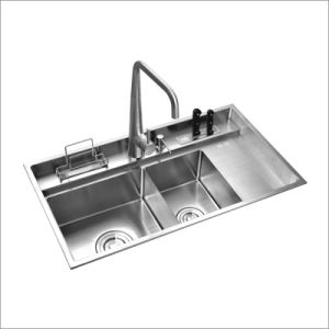 Kitchen Stainless Hand Made Sink (8850s) pictures & photos