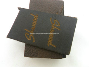 Hot Sale Fashionable Garment Leather Label pictures & photos