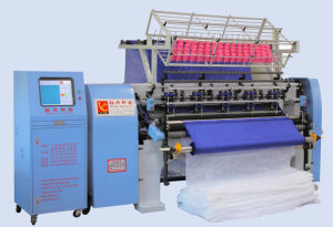 Computer Multi-Needle Lock Stitch Quilting Machine for Textile (YXS-128-3B) pictures & photos