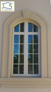 Energy Saving Glass Thermal Break Aluminium Window with Grid pictures & photos