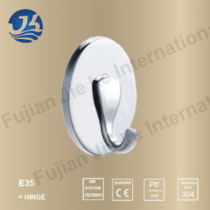 Hot Sell 304 Solid Casting Stainless Steel Bathroom Robe Hanger (E35) pictures & photos