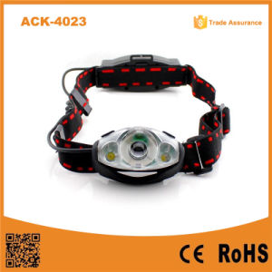 Rechargeable 1 Watt LED Light +2 XPE LED Headlamp pictures & photos
