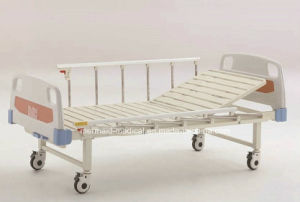 Medical Equipment B-21-3 Movable Semi-Fowler Hospital Bed with ABS Head/Foot Boardb-21-3 Ecom49 pictures & photos